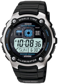 Casio AE-2000W-1A - Standart Digital (электронные)