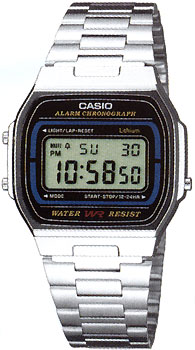 Casio A-164WA-1 - Standart Digital (электронные)