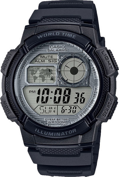 Casio AE-1000W-7A - Standart Digital (электронные)
