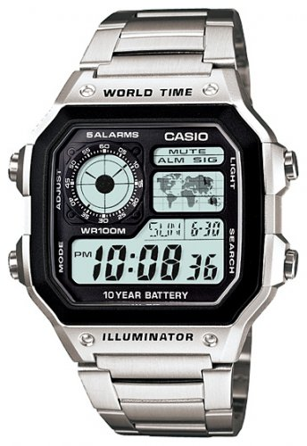 Casio AE-1200WHD-1A - Standart Digital (электронные)