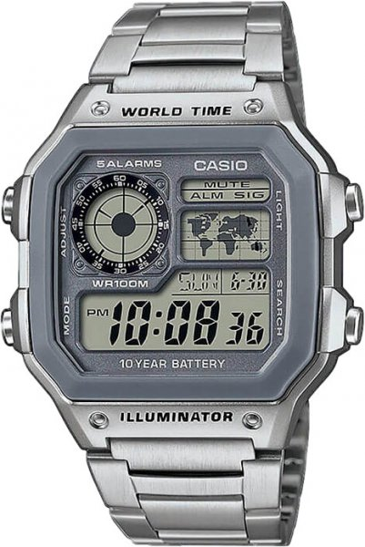 Casio AE-1200WHD-7A - Standart Digital (электронные)
