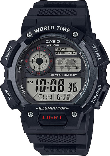 Casio AE-1400WH-1A - Standart Digital (электронные)
