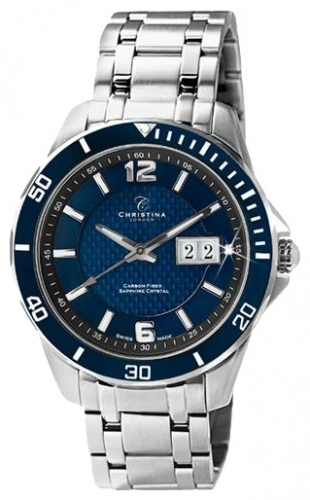 Christina Watches 515SBLUE - Circle-Oval