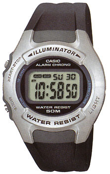 Casio W-42H-1A - Standart Digital (электронные)