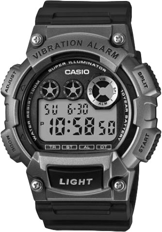 Casio W-735H-1A3 - Standart Digital (электронные)