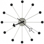 Howard Miller 625-527 Ball Clock II - Oversized