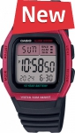 Casio W-96H-4A - Standart Digital (электронные)